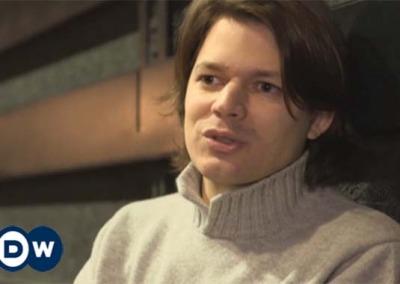 Watch David's New Interview with Germany's DW Euromaxx